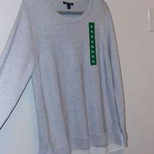 Hilary Radley Gray Sweater